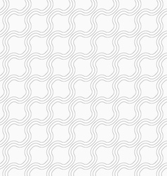 Slim gray diagonal bulging waves vector