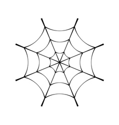 Spider web clip cobweb vector