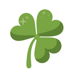 St patricks day clover lucky icon vector