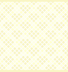 Yellow diamond pattern with hearts seamless vector