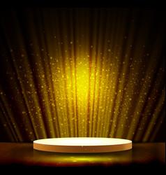 gold scene vector image
