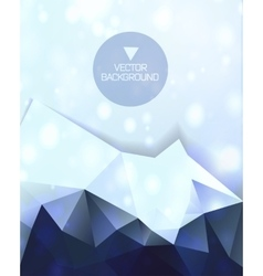 Abstract background abstract mountain vector