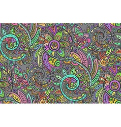 Seamless pattern with traditional oriental vector image