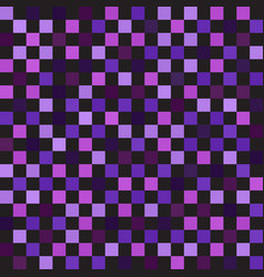 Checkerboard pattern seamless square background vector