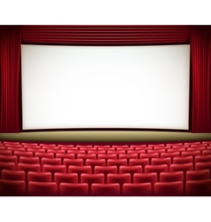 cinema theatre vector image