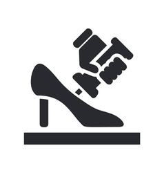 shoe manufacturing vector image