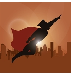 Superhero icon cartoon design graphic vector