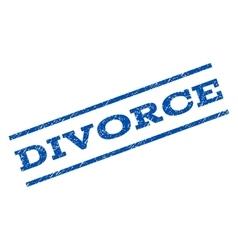 Divorce watermark stamp vector