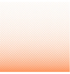 Geometrical halftone square pattern background vector
