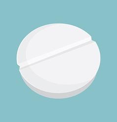 Pill tablets vector image