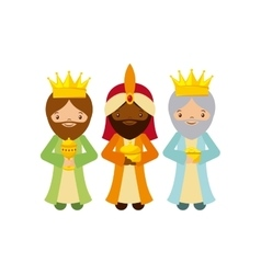 Three wise men design vector