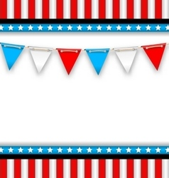 Abstract background for national holidays of usa vector