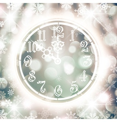 New Year Watch vector image vector image