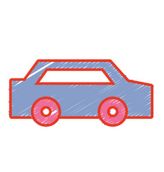 normal car to transportation and modern style vector image vector image