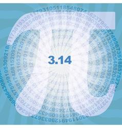 Number pi vector
