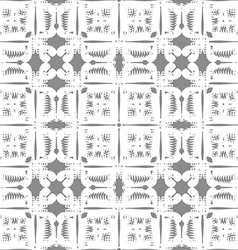White pattern seamless on gray background vector