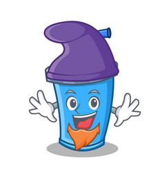 Elf soda drink character cartoon vector