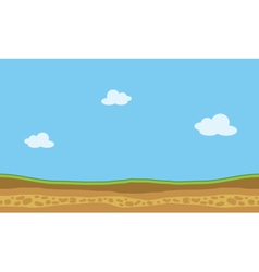 Landscape nature game backgrounds vector
