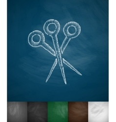 Orthopedic instruments icon vector