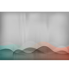 background pastel simple wave vector image vector image