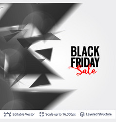 Black friday sale background design vector