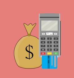 Modern technology pay vector