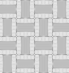 Shades of gray striped t shapes touching vector