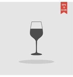 Wine glass icon - vector image