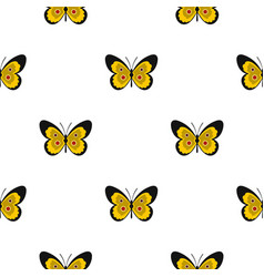 Butterfly pattern flat vector