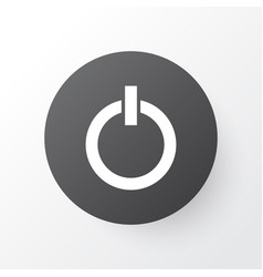 start button icon symbol premium quality isolated vector image