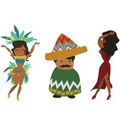 Latinos vector