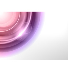 background purple light corner round vector image vector image