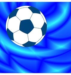 Ball on abstract background vector