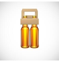 Packaging of beer vector image vector image