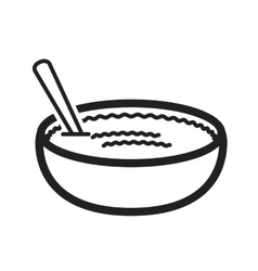 Rice Pudding vector image