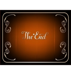 Final frame the end vector