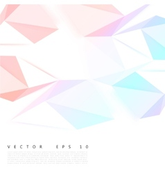 Background abstract polygon triangle vector