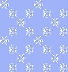 Texture with snowflakes vector