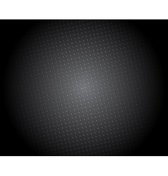 Abstract black background with halftone vector image vector image