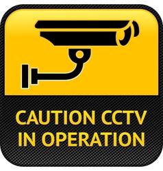 Cctv symbol pictogram security camera vector