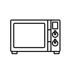 old tv technology vector image