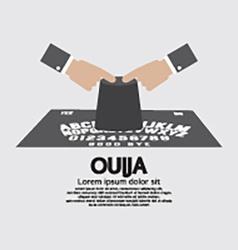 Ouija board playing vector