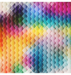 Abstract color Background with cell vector image vector image