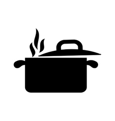 Kitchen saucepan utensil vector
