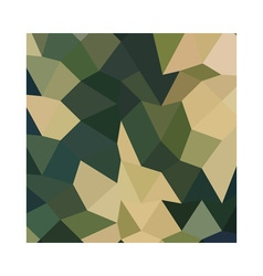 Dark olive green abstract low polygon background vector