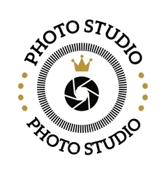 Photographer icon logo vector