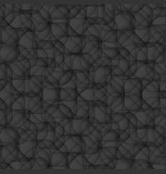 black texture abstract pattern seamless floral vector image