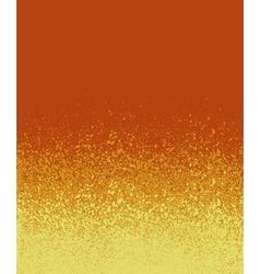 graffiti spray painted orange yellow gradient vector image vector image