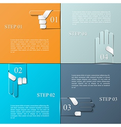 Info graphic design template eps 10 vector image