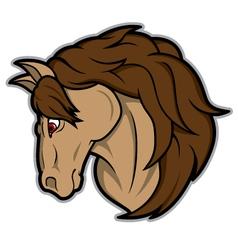 Horse Mascot vector image